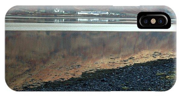 Loch Linnhe Reflection IPhone Case