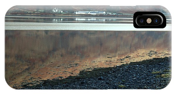 Loch Linnhe Reflection IPhone Case