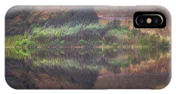 Beautiful Scotland iPhone Case - Loch Lochy Reflection No 8 by Chris Fletcher