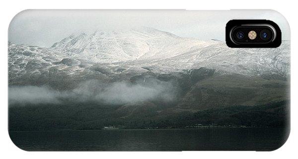 Loch Lomond, Winter IPhone Case