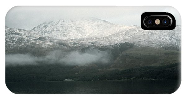 Loch Lomond, Winter IPhone Case