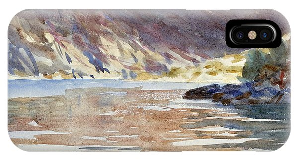 Impressionistic iPhone Case - Loch Moidart by John Singer Sargent