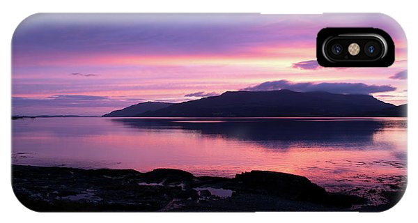 Loch Scridain Sunset IPhone Case