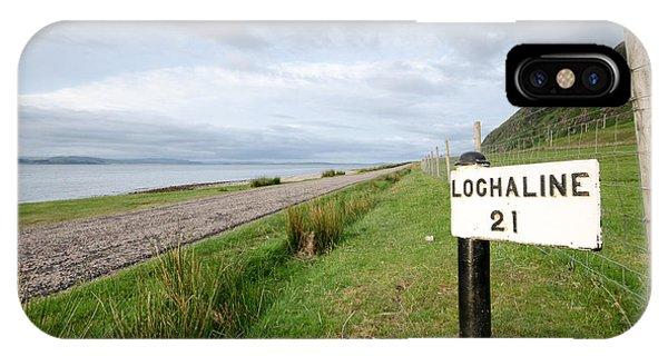 Scotland iPhone Case - Lochaline This Way by Smart Aviation