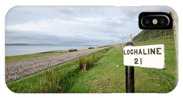 Lochaline This Way IPhone Case