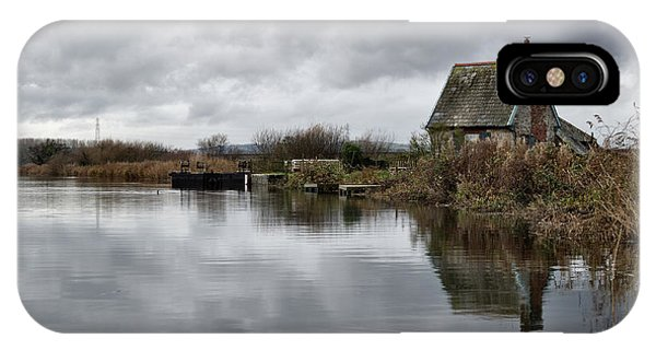 Lock Keepers Cottage At Topsham IPhone Case