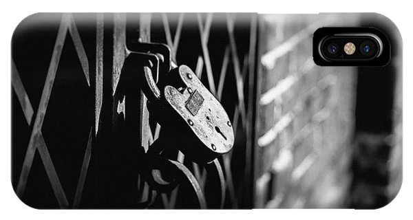 Locked Away IPhone Case