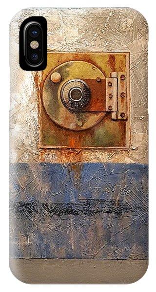 Locked Combination IPhone Case