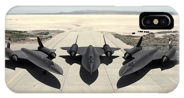 iPhone Case - Lockheed Sr-71 Blackbird by Eloisa Mannion