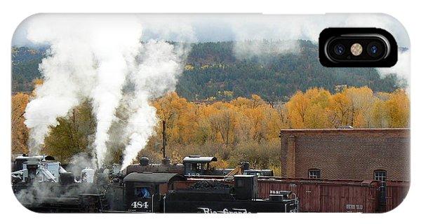 Locomotive At Chama IPhone Case