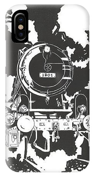 iPhone Case - Locomotive by Jacki Randall