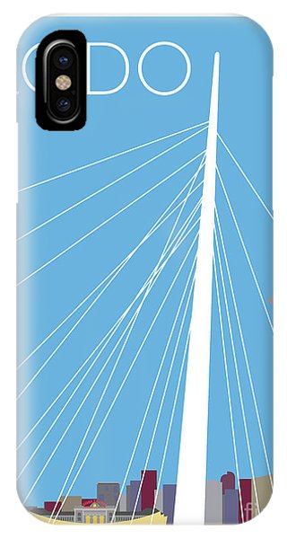 Lodo/blue IPhone Case