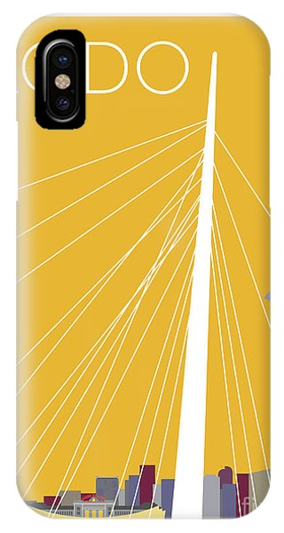 Lodo/gold IPhone Case