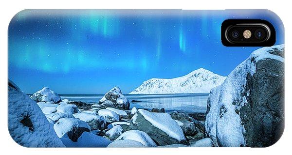 Lofoten Aurora IPhone Case