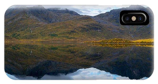 Lofoten Lake IPhone Case