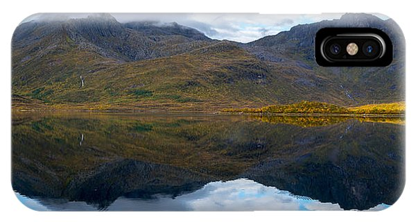 IPhone Case featuring the photograph Lofoten Lake by James Billings