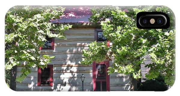 Log Cabin 5 - Lewes Delaware  IPhone Case
