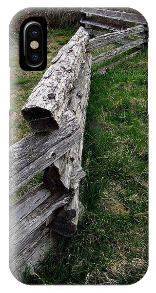 Log Fence IPhone Case