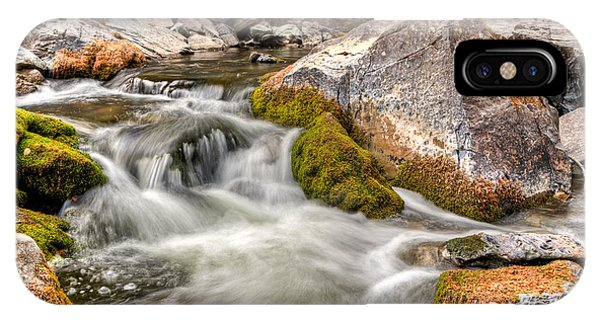 Logan Creek, Montana 2 IPhone Case