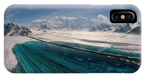 Logan Glacier Meltwater IPhone Case
