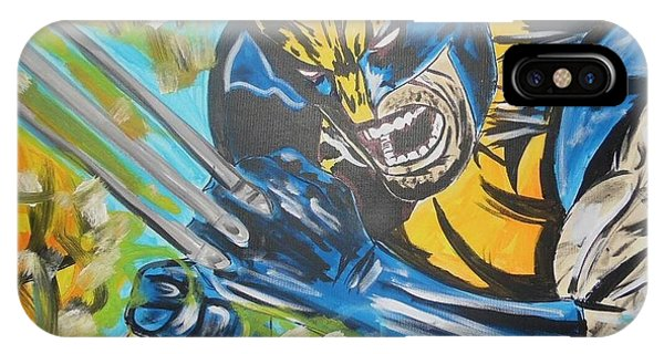 Logan Time IPhone Case