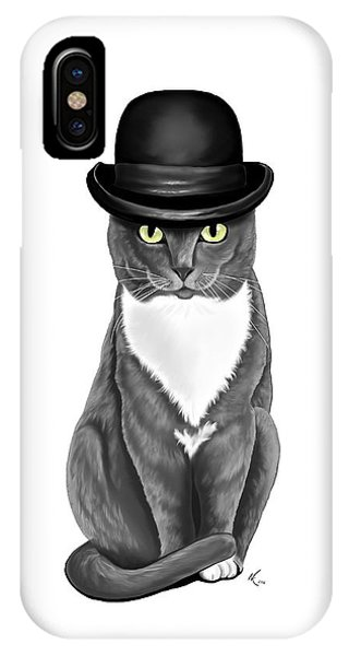 Lola With The Bowler IPhone Case