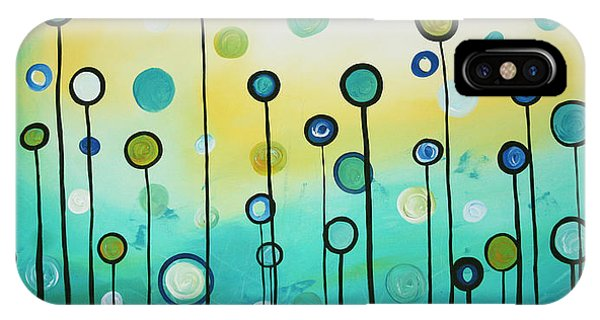 Cute iPhone Case - Lollipop Field By Madart by Megan Duncanson