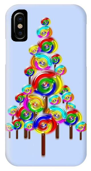 Lollipop Tree IPhone Case