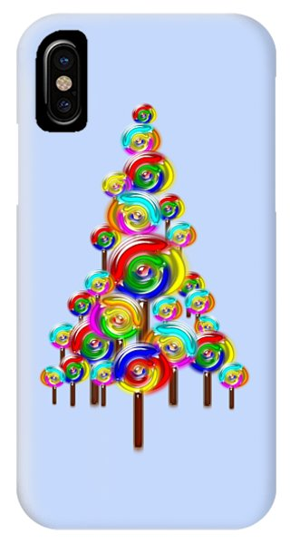 Lollipop Tree IPhone Case