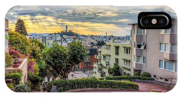 Lombard Street In San Francisco IPhone Case