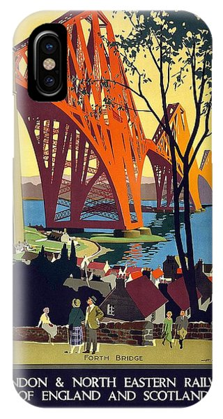 Advertising iPhone Case - London And North Eastern Railway - Retro Travel Poster - Vintage Poster by Studio Grafiikka