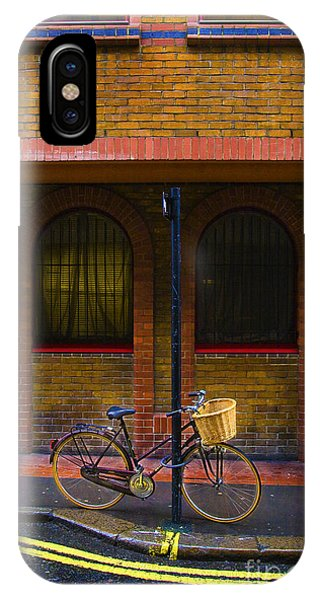 London Bicycle IPhone Case