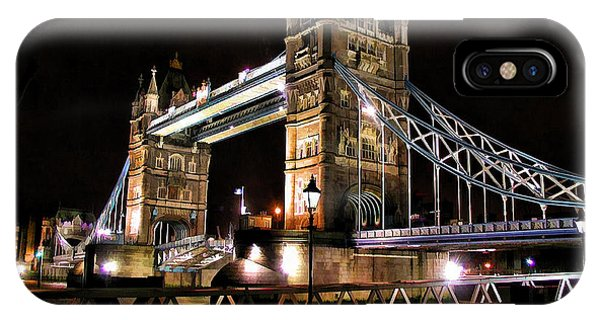 London Bridge At Night IPhone Case