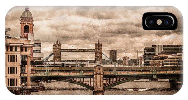 London, England - London Bridges IPhone Case