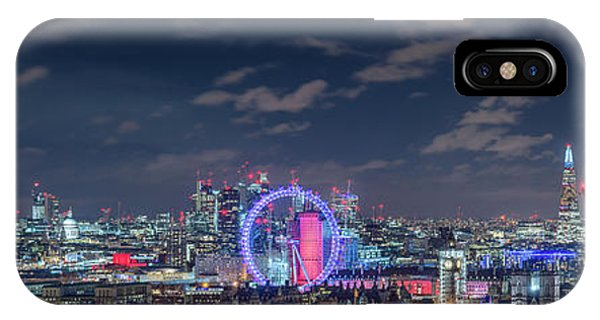 IPhone Case featuring the photograph London By Night by Stewart Marsden