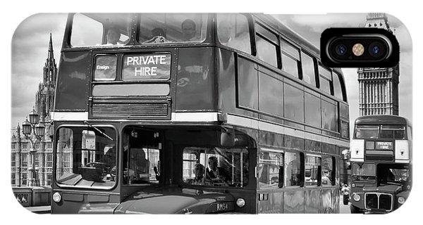Greater London iPhone Case - London Classical Streetscene by Melanie Viola