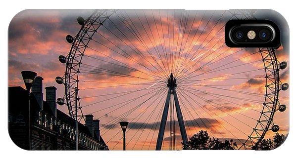 London Eye #1 IPhone Case