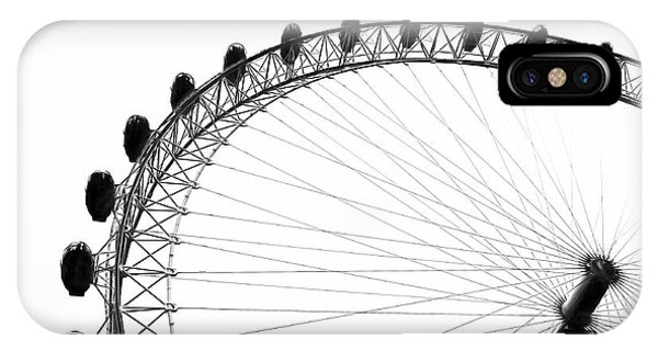 London Eye iPhone Case - London Eye by Erik Brede