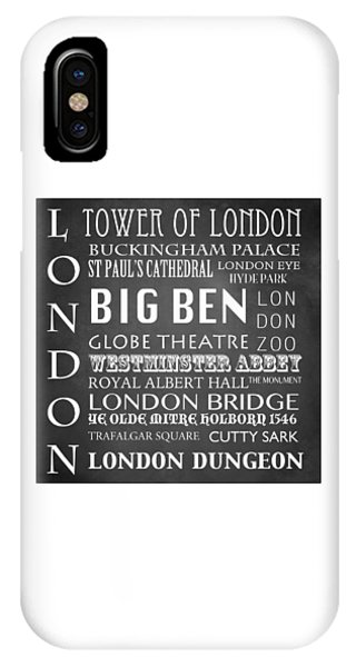Dungeon iPhone Case - London Famous Landmarks by Patricia Lintner