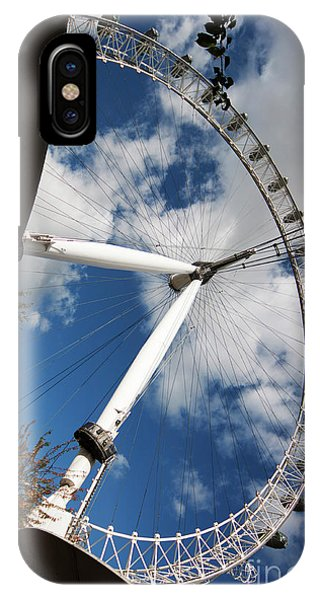 London Ferris Wheel IPhone Case