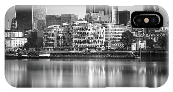 England iPhone Case - London Financial District by Ivo Kerssemakers