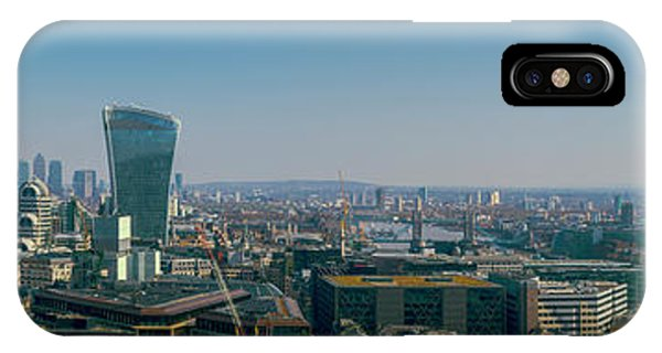IPhone Case featuring the photograph London Skyline by Stewart Marsden