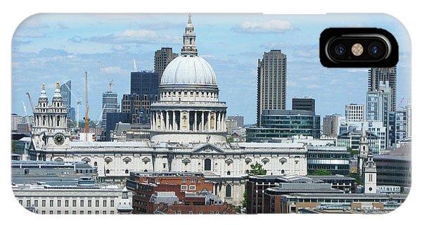London Skyscrape - St. Paul's IPhone Case
