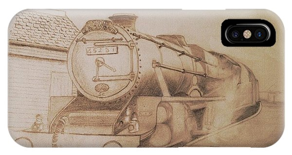 London Steam Locomotive  IPhone Case