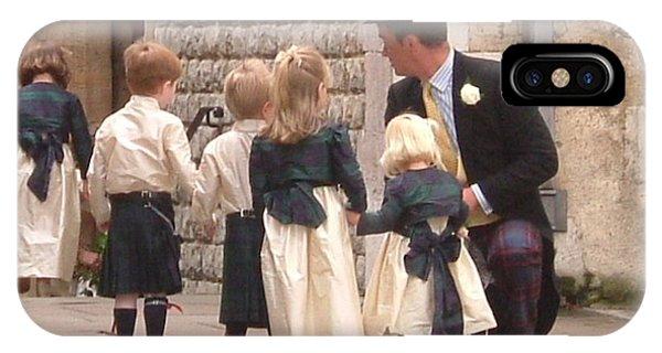 London Tower Wedding IPhone Case