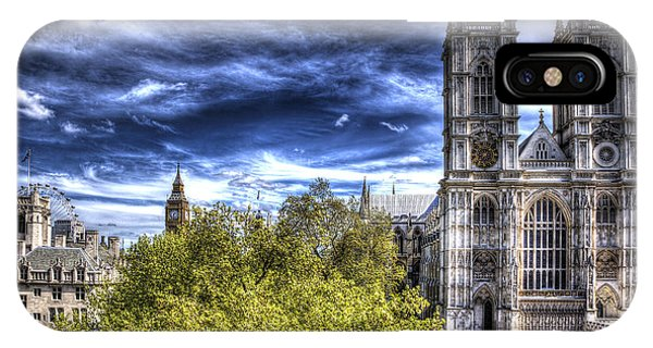 London Westminster Abbey Surreal IPhone Case