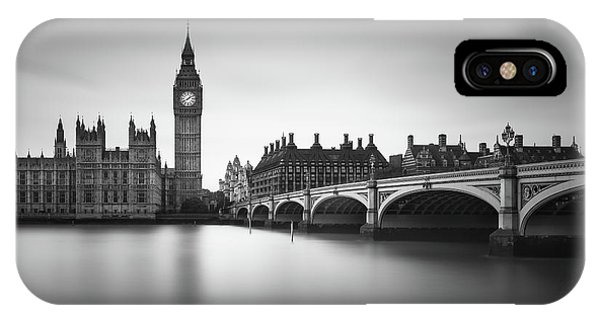 Ben iPhone Case - London, Westminster Bridge by Ivo Kerssemakers