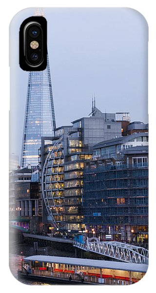 London's Shard IPhone Case