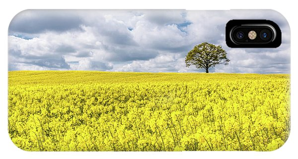 IPhone Case featuring the photograph Lone Beauty by Nick Bywater