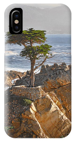 Monterey iPhone Case - Lone Cypress - The Icon Of Pebble Beach California by Christine Till